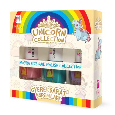 """Moyra Kids """"gyerekbarát"""" körömlakk szett Unicorn"""