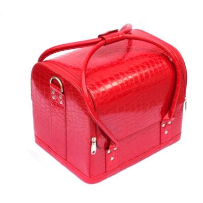 Műkörmös táska Fényes piros